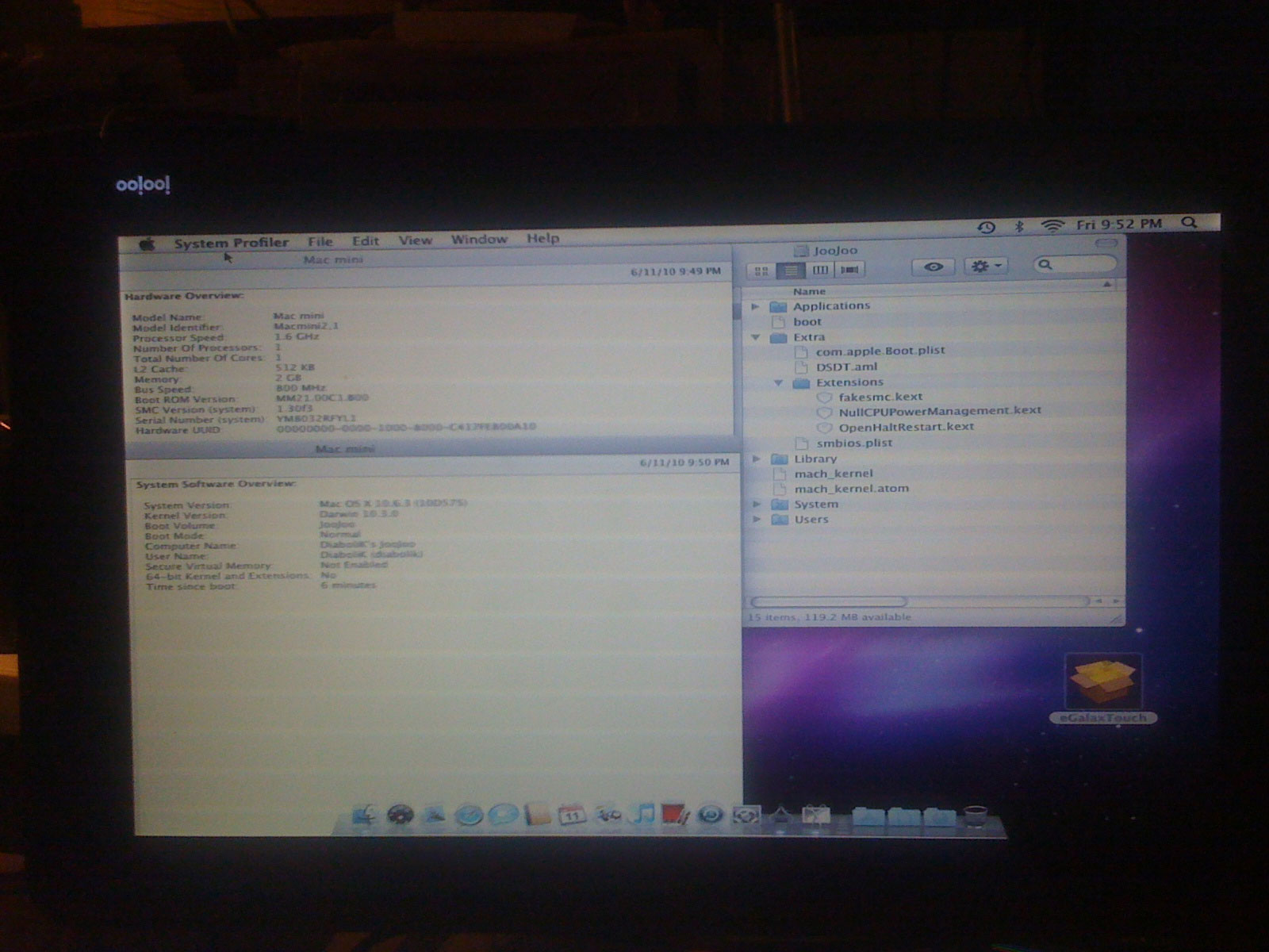 03 [HACK] JooJoo : Mac OSX sur tablette ?