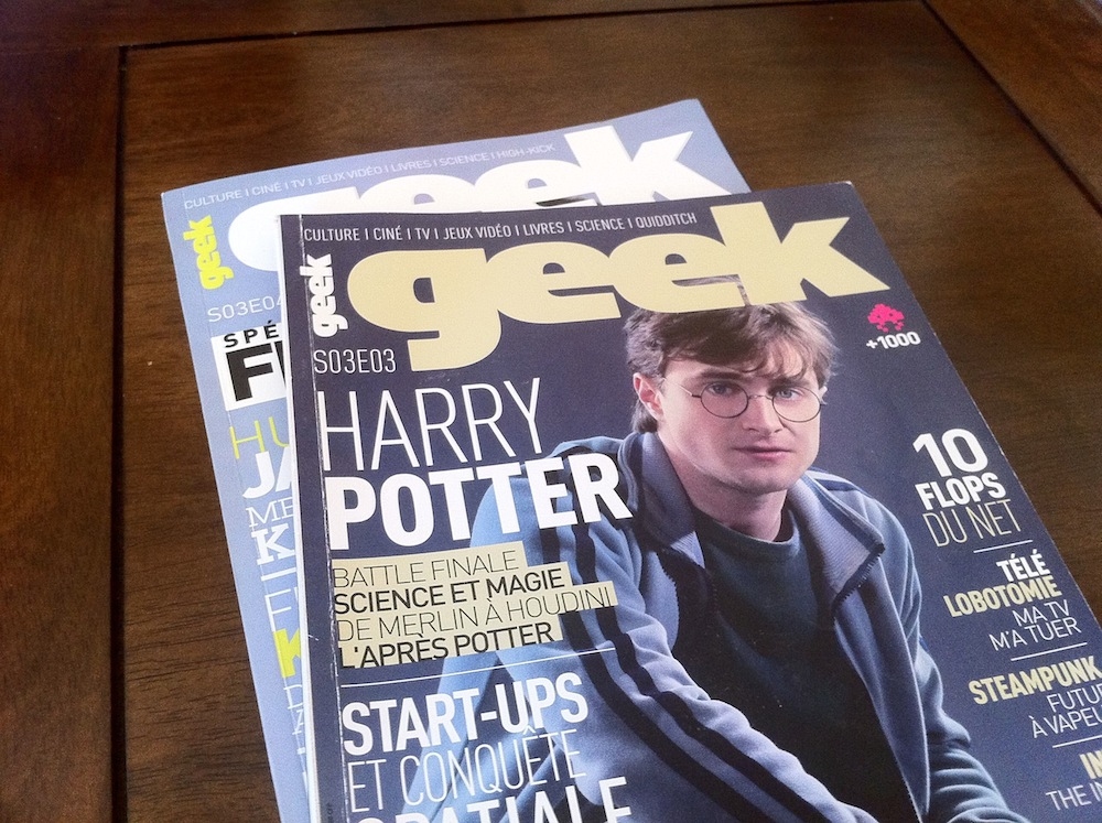  Geek Le Mag : Un magazine pour... Geek !